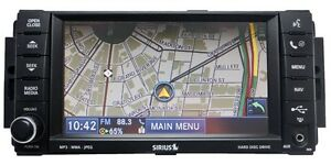CHRYSLER-JEEP-DODGE-Ram-MyGig-Navigation-Radio-CD-MP3-DVD-Sirius-Player-730N-RER