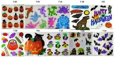 Halloween-scrapbook (Sandylion Vintage HALLOWEEN Scrapbook Stickers **RETIRED DESIGNS**)