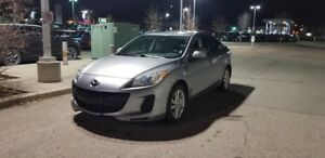 2012 Mazda 3 Sedan Sunroof
