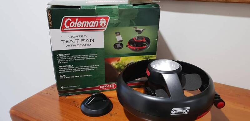 You donu0027t have any recently viewed items & Coleman lighted tent fan   Camping u0026 Hiking   Gumtree Australia ...