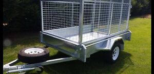 New 8x5 heavy duty Galvanised trailer- great for quads Darwin Region Preview