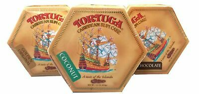Tortuga Rum Cake 16 oz Jamaican Caribbean Cake Christmas Holidays Gift Party ()