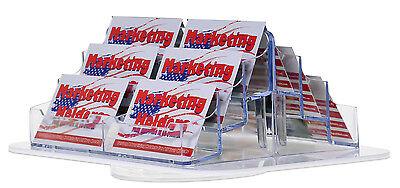 12 Pocket Business Or Gift Card Holder Counter Top Spinning Rack Display