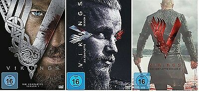 Vikings - Staffel 1+2+3 (1-3) - NEU OVP - DVD Set
