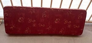 GORGEOUS PLUSH CUSHIONED PAD FOR BENCH OR WINDOW SEAT Girraween Parramatta Area Preview