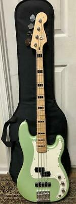 Fender Special Edition Deluxe PJ Bass Guitar Sea Foam Pearl