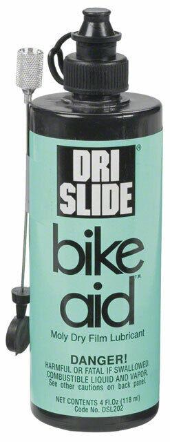 Dri-Slide Bike Aid 4oz Lube with Needle Nozzle