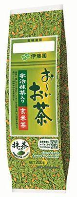 ITOEN Oi-Ocha Genmai-cha with Uji Matcha Tea Leaves 200g