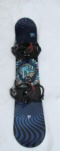 K2 Fuse 152 CM snowboard c/w Bent Metal Bindings