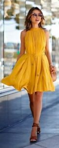 *New*  Yellow dress