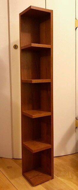 Wood CD or DVD storage unit. Brand new, only £5