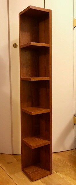 Wooden CD DVD or general shelving unit, brand new. Only £5