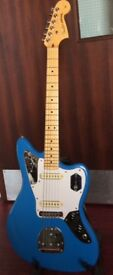 Fender American Professional Jaguar Postage/PayPal√ California Blue, Johnny Marr Pups/Electrics
