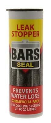 Bars Seal 50g Car Radiator Rad Cooling System Sealer Stop Leak Weld  20 Litres!!