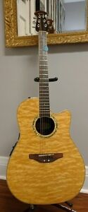 Ovation celebrity acoustic Electric guitar with acoustic amp