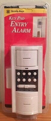 Keypad Entry Alarm - New In Package Carlon Key Pad Entry Security Alarm w/3 Operational Modes