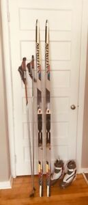 Skate Ski Package (Salomon) - barely used