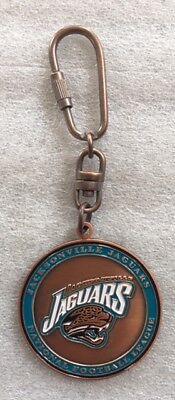 Jacksonville Jaguars Key Ring Keychain - NWOT - FREE SHIPPING Jacksonville Jaguars Keychain