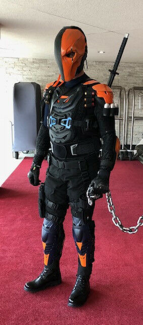 Batman Deathstroke DC costume cosplay one of a kind - functional unique