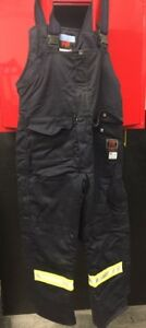 Action West Flame Retardant Insulated Bib Overalls - Size L
