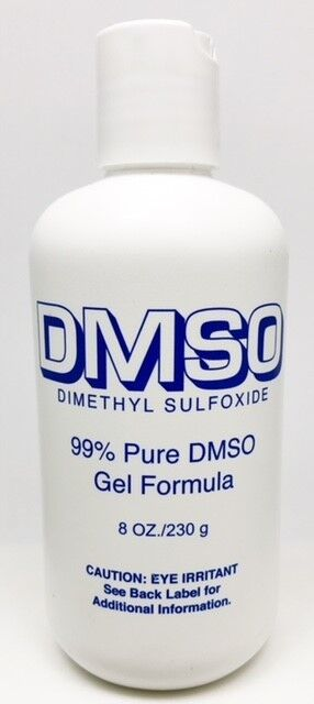 DMSO Gel 8oz  Dimethyl Sulfoxide Arthritis Pain & Swelling