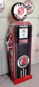 RED INDIAN GAS STORAGE CABINET, GAS PUMP, GUN LOCKER