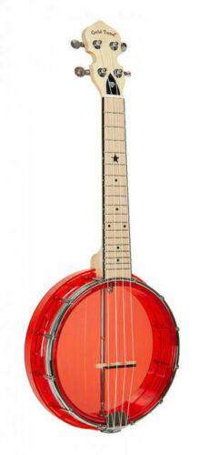 Gold Tone Little Gem ( Ruby ): See-Through Banjo-Ukulele
