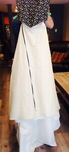 One of a kind wedding gown from Paris, Size 6-8