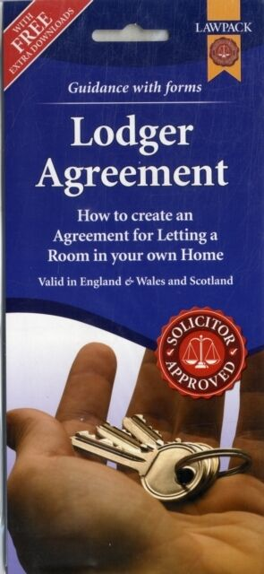 Lodger Agreement Form Pack (England, Wales and Scotland) (Paperba. 9781907765551