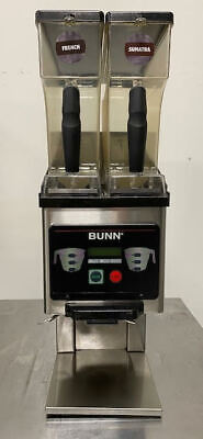 Bunn Mhg Dual Hopper Commercial Coffee Grinder Works Great Nice Unit