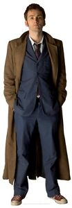 DOCTOR WHO DAVID TENNANT TABLE DESKTOP CARDBOARD CUTOUT