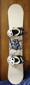 K2 154 Wide Select snowboard with K2 Binding