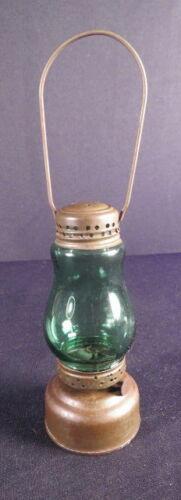 1870-1900 Green Globe Petite Tin/Zinc Skater