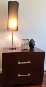 Bedside tables and tallboy