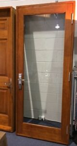 FRENCH DOORS,SOLID CEDAR TIMBER,900Wx2100H, STAINED & OILED, HUNG Vineyard Hawkesbury Area Preview