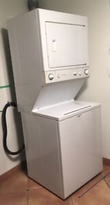 Washer/Dryer, Full-size stackable. Kenmore