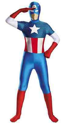 Captain America Costume for Boys size 10-12 New by Disguise 50373 (Captain America Costumes For Boys)