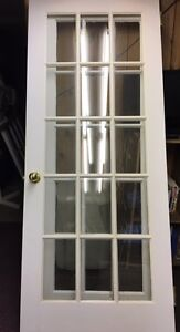 3 French doors  $100 each