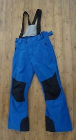 Ladies' Cobalt Blue Small Ski Trousers £10