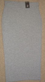 BNWT Womens Ladies grey soft and comfortable Skirt size 10 NEW ATMOSPHERE S