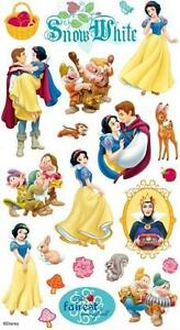 EK Success Disney Princess SNOW WHITE Stickers Scrapbooking Papercrafts