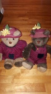 Vintage Gund Bear set Price Drop
