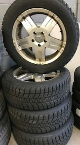 BMW X5 Winter Tires and Rims Package-USED!