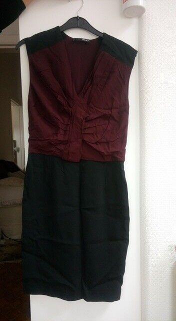 LIU-JO black and burgundy dress