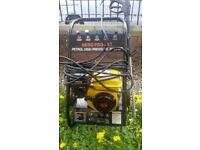 petrol power washer as new