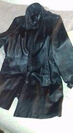 leather womens coat 18