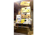 REDUCED ! MOVING (BANANA) BOXES !