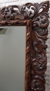 HANDCARVED FLORENTINE MIRROR  FRAME Campbell River Comox Valley Area image 2
