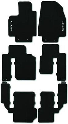 Mazda CX-9 Front and Rear Set Carpeted Floor Mats  00008BN04B 00008BN05B