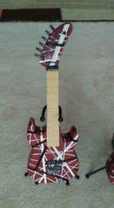 EDDIE VAN HALEN REPLICA PIGGY BANK GUITARS